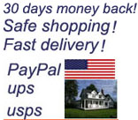 safe shopping, fast delivery, 30 days money back