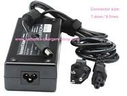HP 384022-002 laptop ac adapter replacement (Voltage: 100V-240V (Input), 18.5V (Output), 6.5A (Output Current)